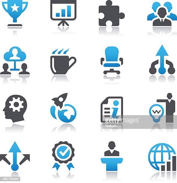 illustrazioni stock, clip art, cartoni animati e icone di tendenza di illustrazioni vettoriali di icone di business - mondo beat