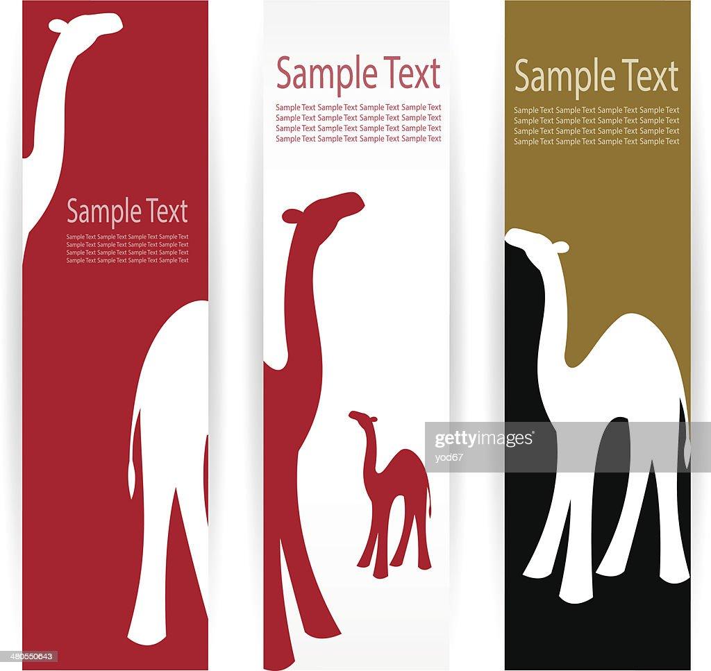 Imagem vetorial de um camelo : Arte vetorial