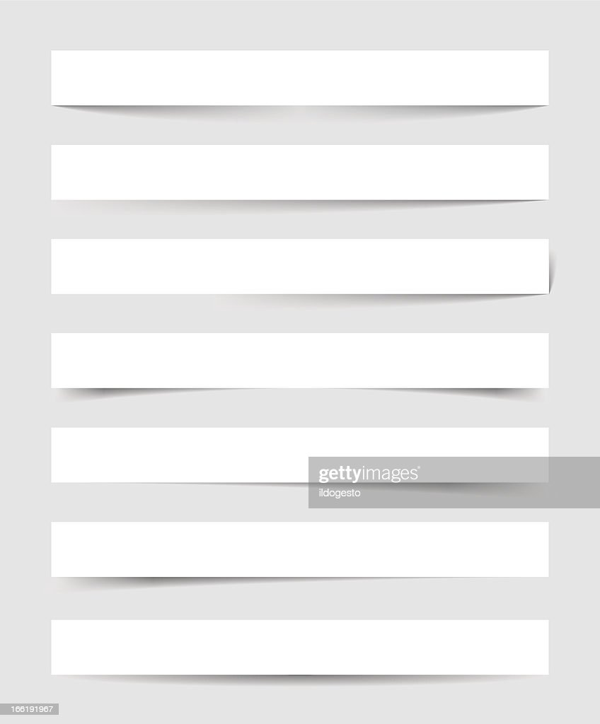 Vector image of transparent shadows