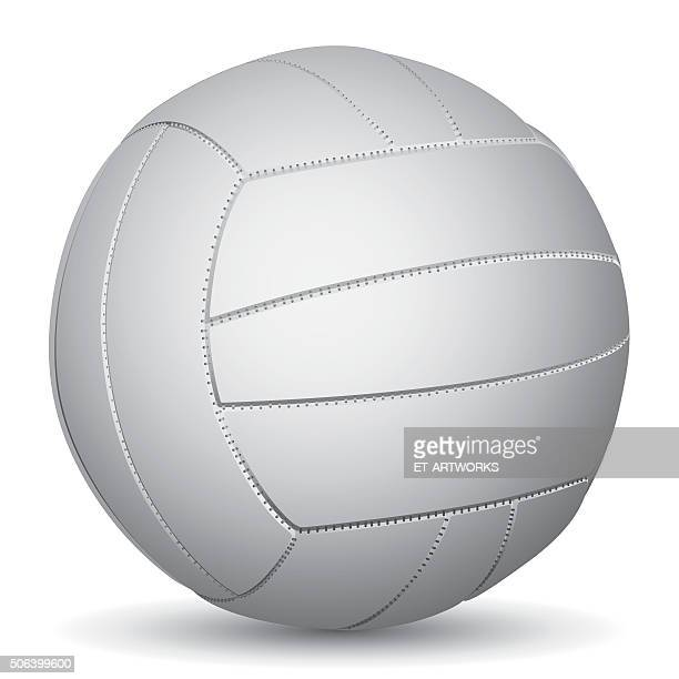 Vector image of Volleyball