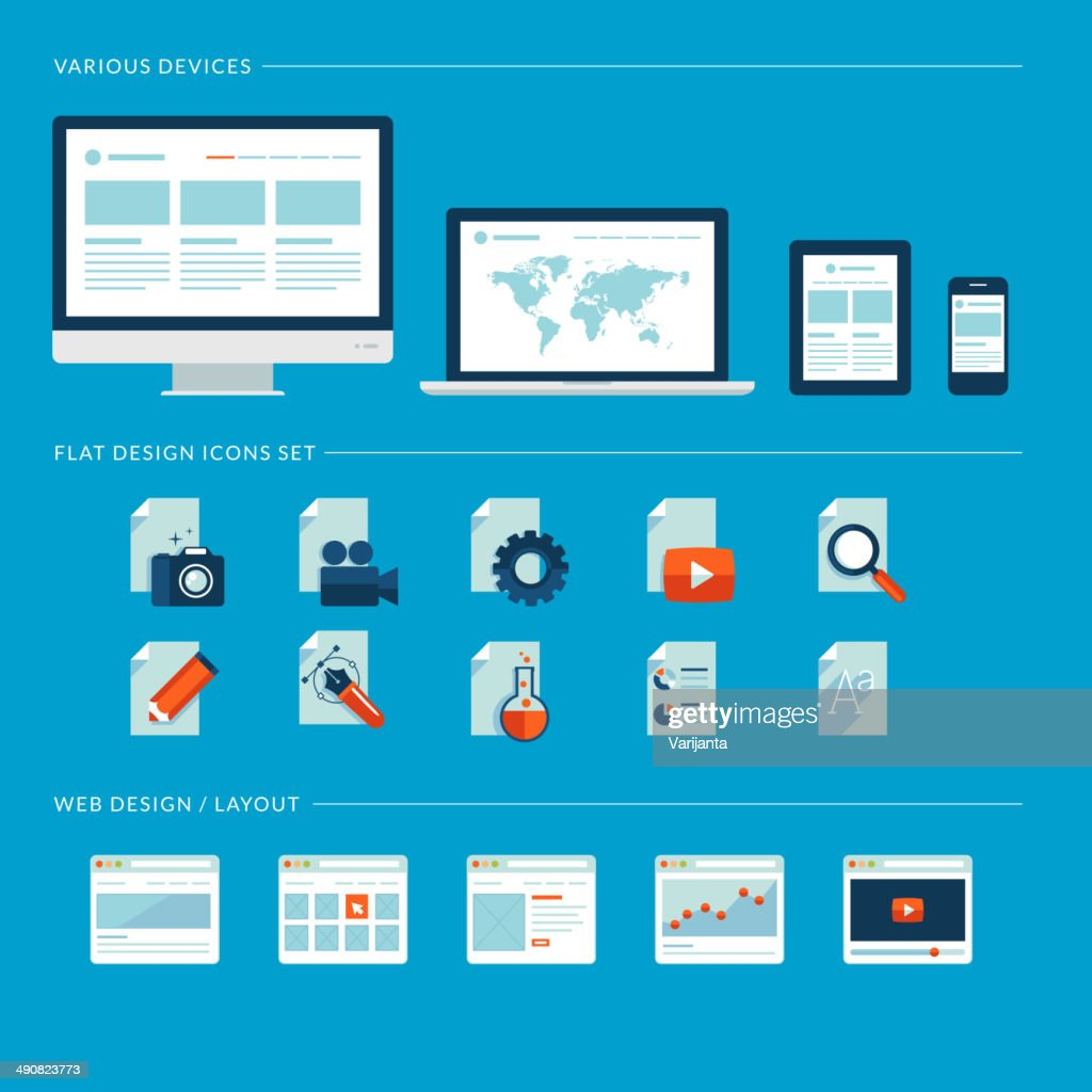 Vector images for web and mobile apps