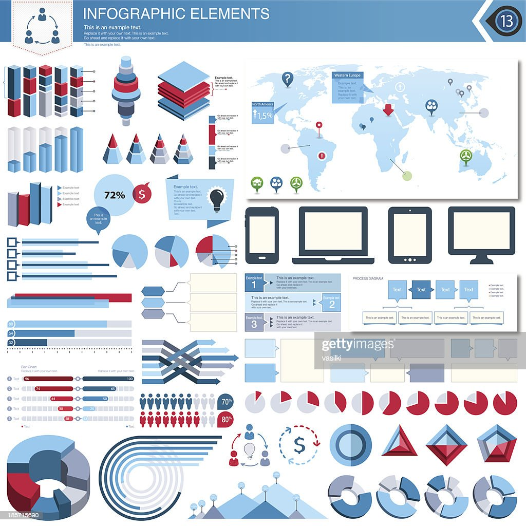 Vector Infographic Elements Set