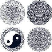 Vector inndian Mandala