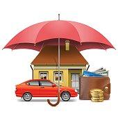 Vector Insurance Concept