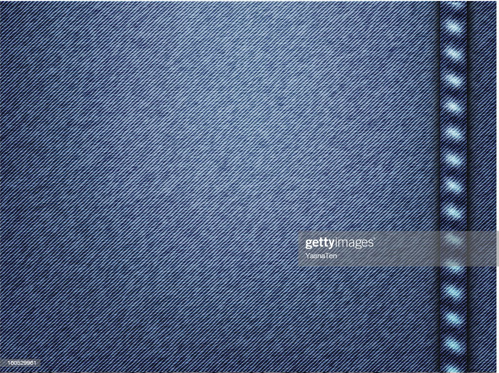 Vector jeans texture background