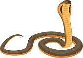 vector King cobra