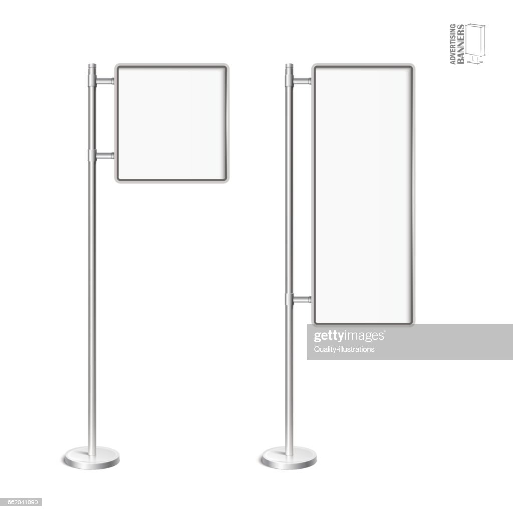 Vector light box with chrome stand