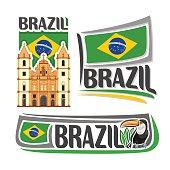 Vector logo Brazil