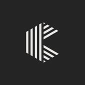 Vector Logo Letter K