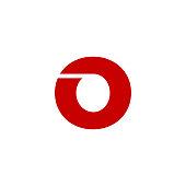 Vector Logo Letter O