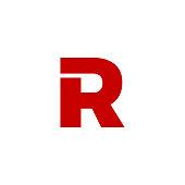 Vector Logo Letter R