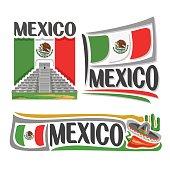 Vector logo Mexico