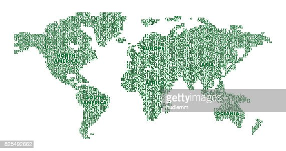 World map and globes illustration vector art getty images keywords gumiabroncs Image collections