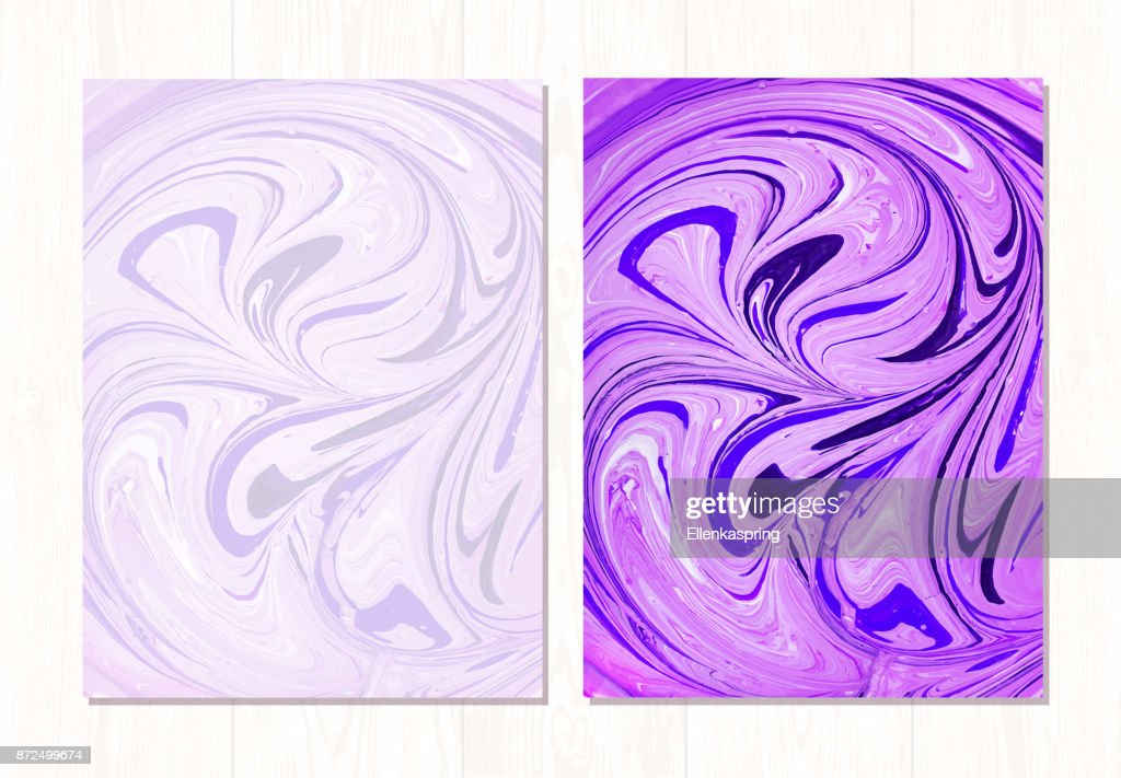 Vector marble abstract background. Liquid marble pattern. Trendy template