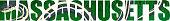 vector Massachusetts - American state word with Common garter snake