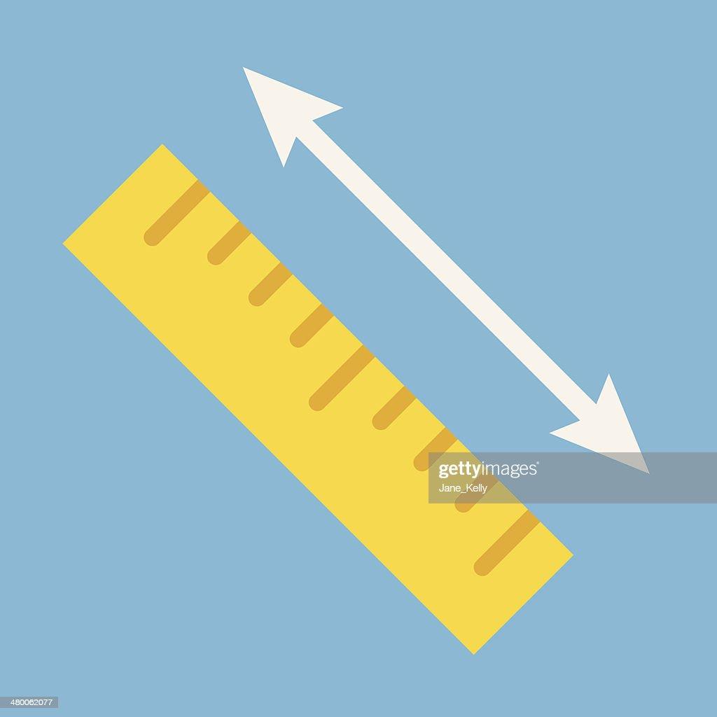 Vector Measurement Icon