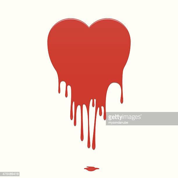 Vector Melting Heart