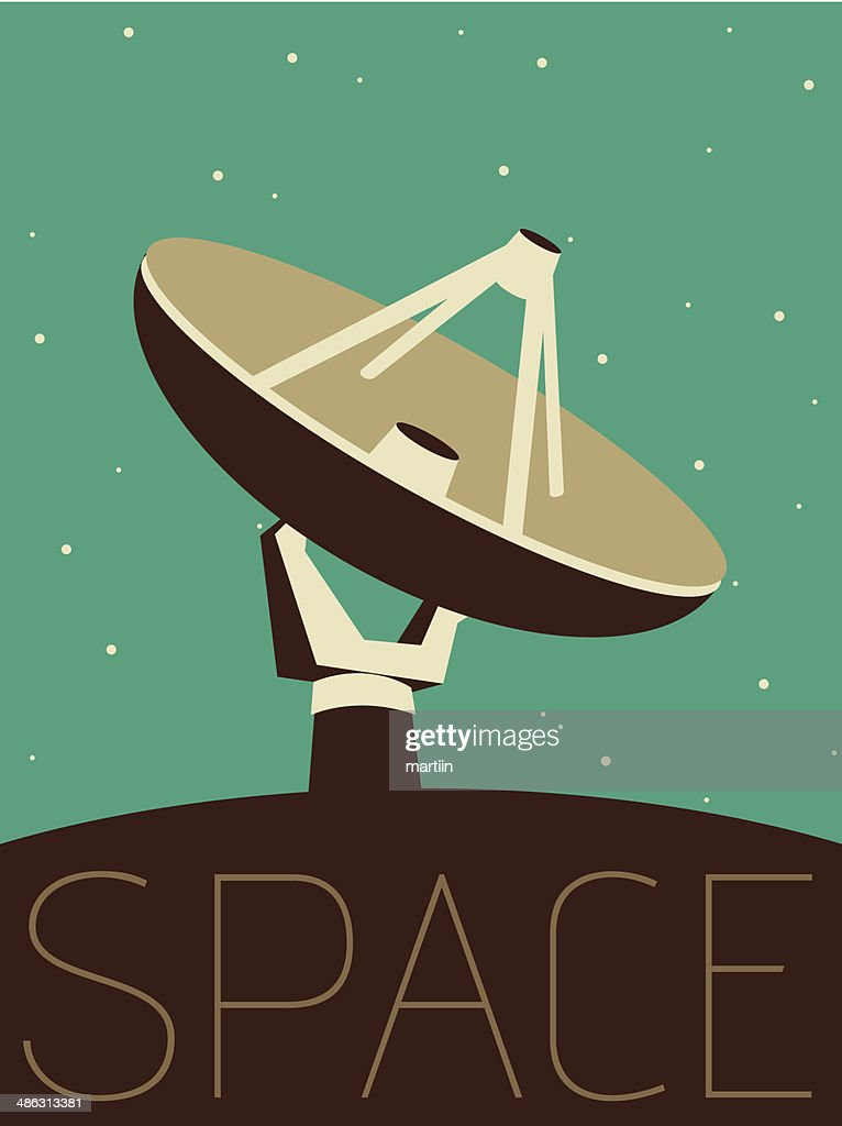 Vector Minimal Design - Space Antenne