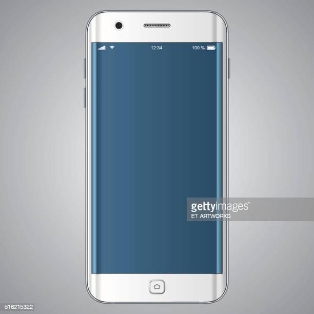 ベクトル携帯電話のテンプレート - 電子手帳点のイラスト素材/クリップアート素材/マンガ素材/アイコン素材