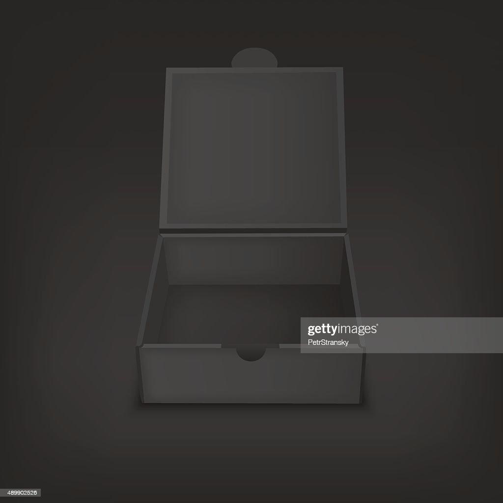 Vector mock up illustration for presentation packaging design