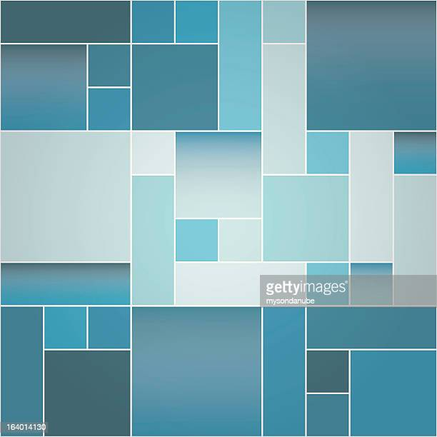 vector modern background - square stock illustrations