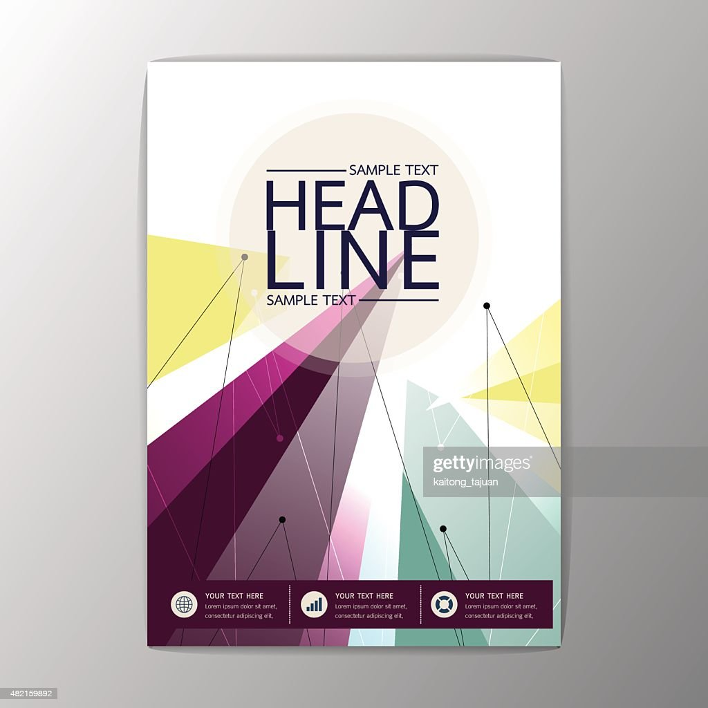 Vector modern design abstract Brochure Flyer, Business Corporate Template Layout