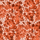 Vector modern geometric coral red camouflage seamless pattern