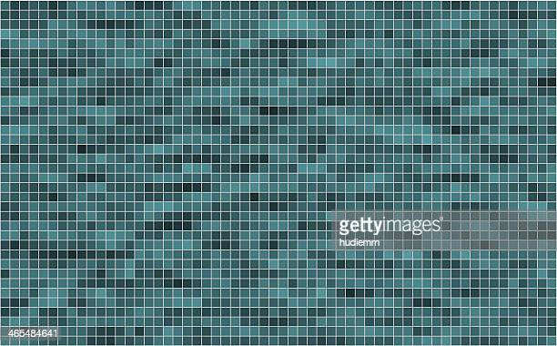 Vector mosaic background textured