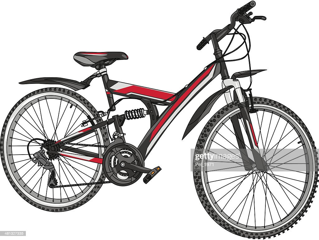 vector mountain bike