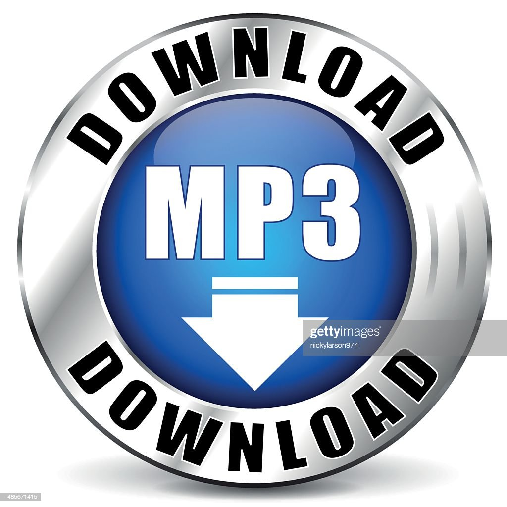 Vector mp3 chrome icon