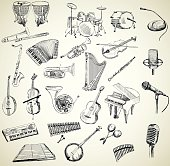 Vector musical instruments