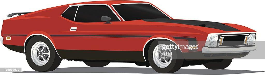 Vector Mustang Mach1 - 1973