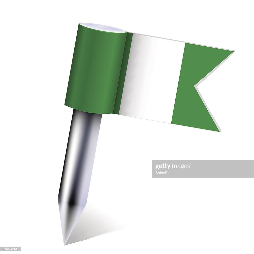 Vector Nigeria country flag