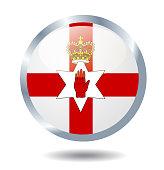 Vector Northern Ireland state flag