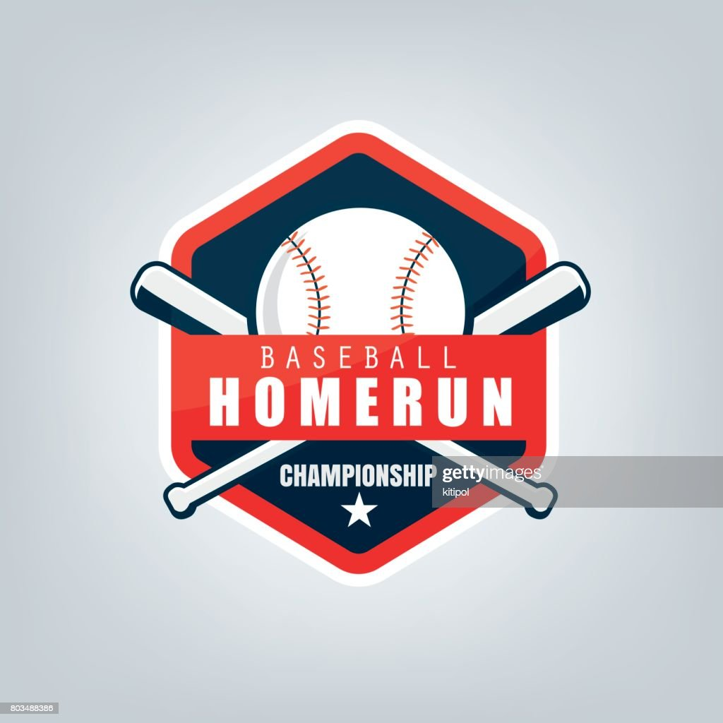 Vector of Baseball sport team  design