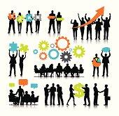Vector of Business Teamwork