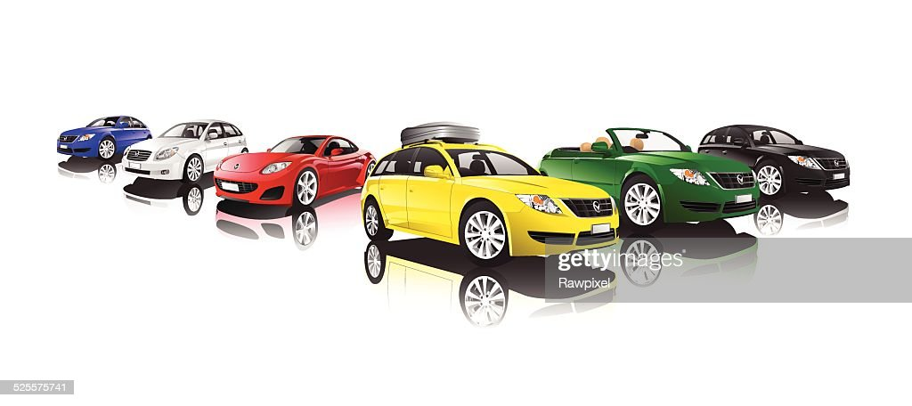 Vector of Collection of Cars