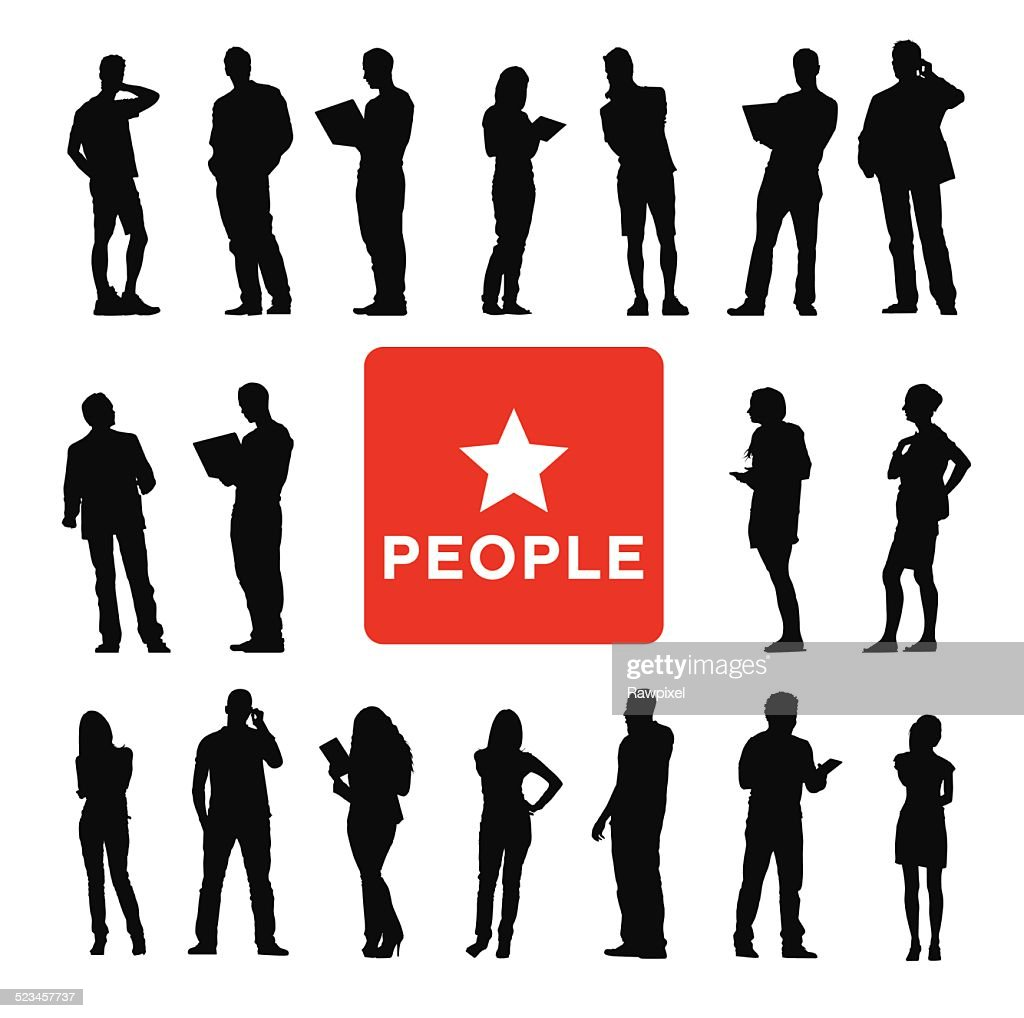 Vector of Diverse Business People