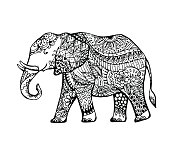 Vector of Elephant
