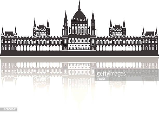 Vector of Hungarian Parliament Building, Budapest
