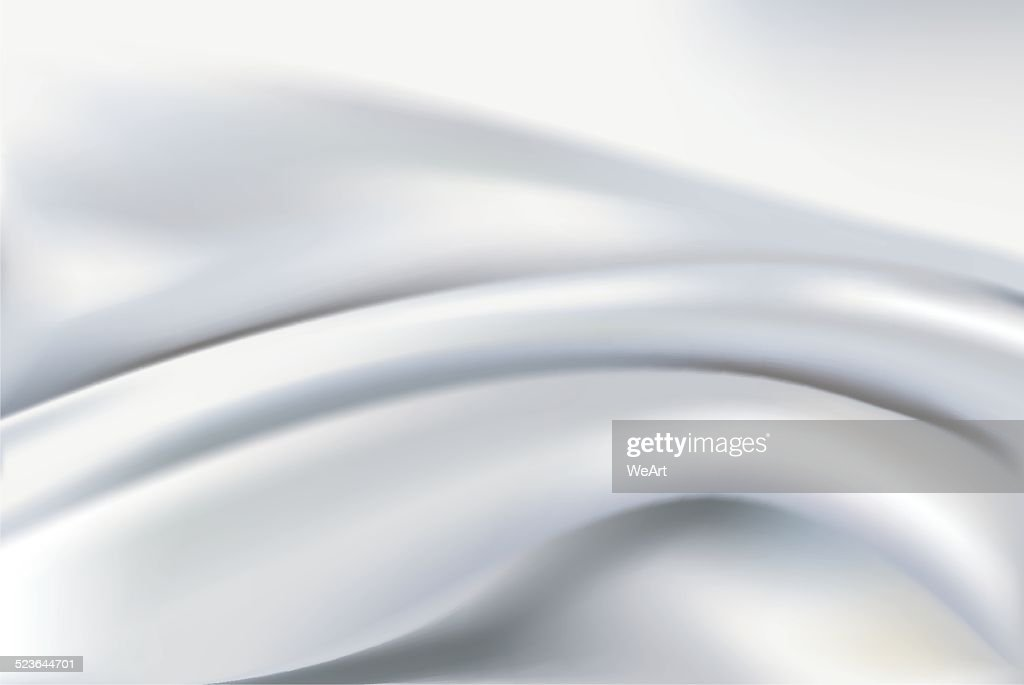 Vector of Ivory silk background