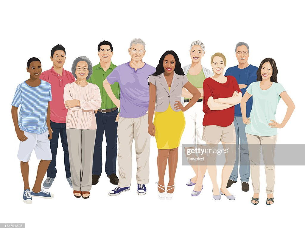Vector of People Group