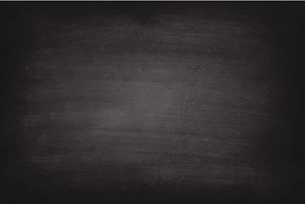 Vector Of Rough Black Chalkboard Background