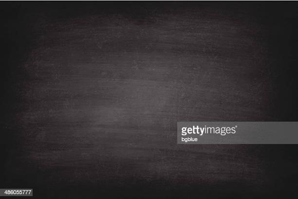 stockillustraties, clipart, cartoons en iconen met vector of rough black chalkboard background - bord bericht