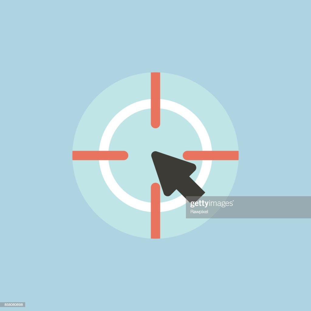 Vector of target icon