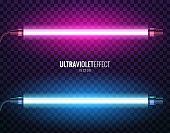 Vector of ultraviolet light.