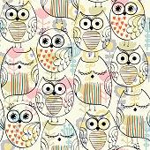 Vector owls.