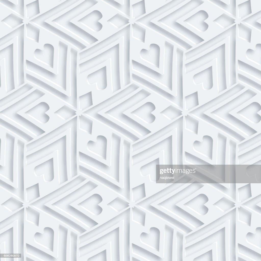 3D vector pattern