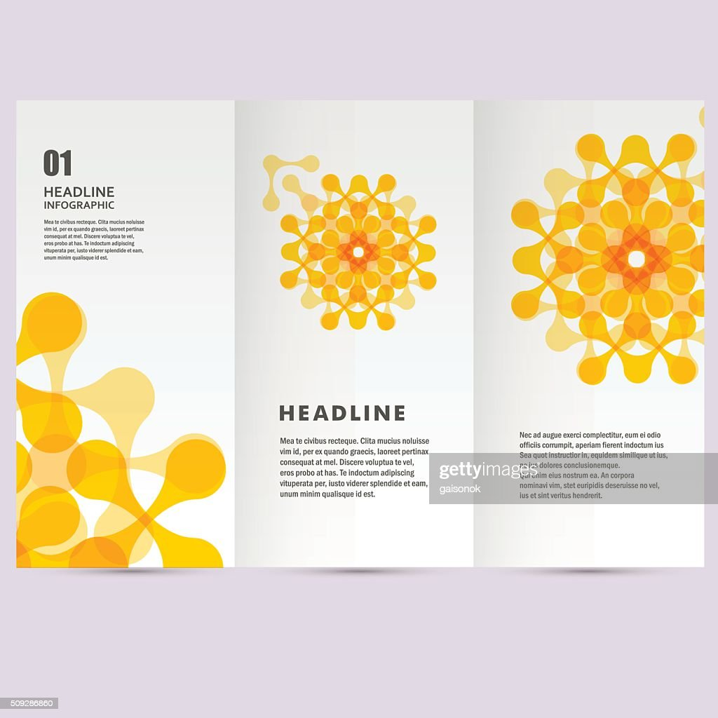 Vector pattern with abstract figures