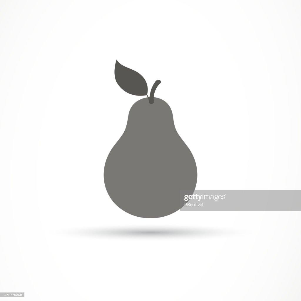 Vector Pear Icon